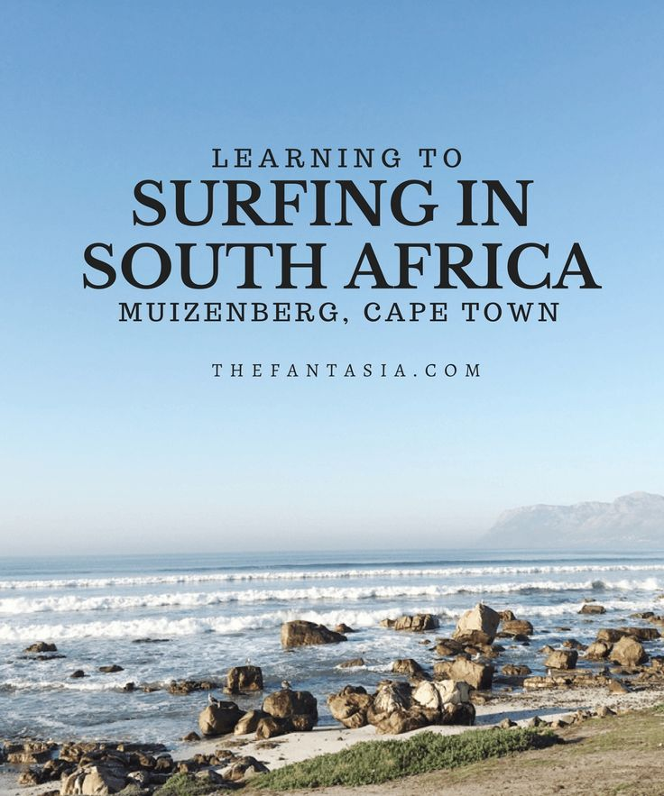Surfing is a religion in South Africa! Perfect waves, incredible sights - perfect place to learn how to surf!!! Excited to do this again, and this post has some incredible tips!