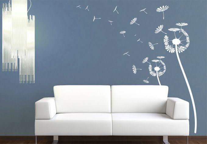 Dandelion Wall Sticker - Nice Flower Wall Sticker - Wall Stickers | Wall Art Shop | Decorating Ideas & Wall Decals