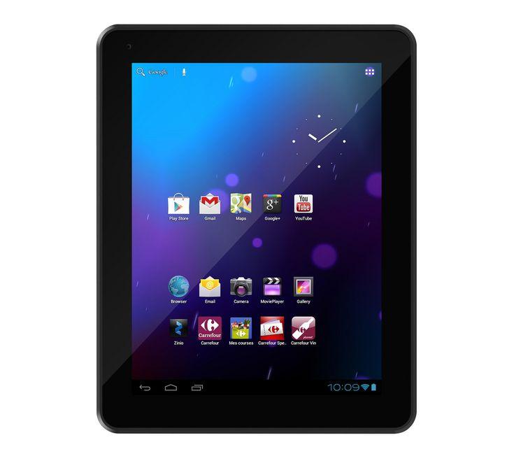 carrefour home tablette ct1010 noir crf tablette tactile. Black Bedroom Furniture Sets. Home Design Ideas