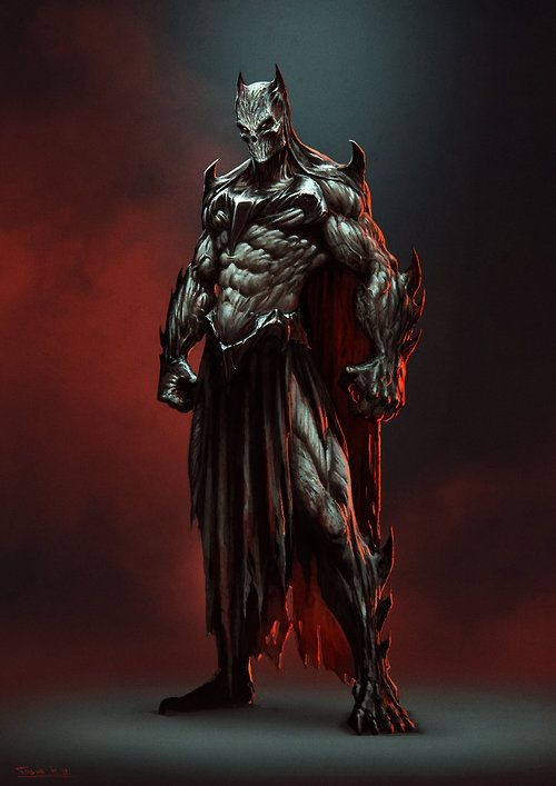 Batman Redesign by Todor Hristov (Draken4o)
