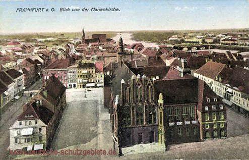Frankfurt a. O. - Blick von der Marienkirche
