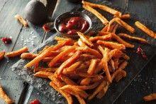 Homemade Orange Sweet Potato Fries