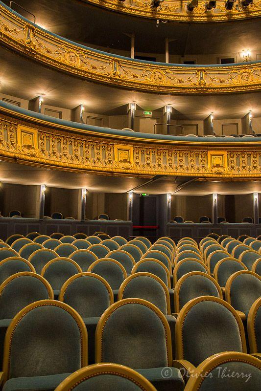 Nantes. Graslin Theatre - Nantes, Pays-de-la-Loire .