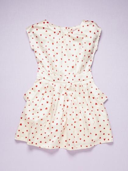 Juicy Couture Sateen Heart Dress $58