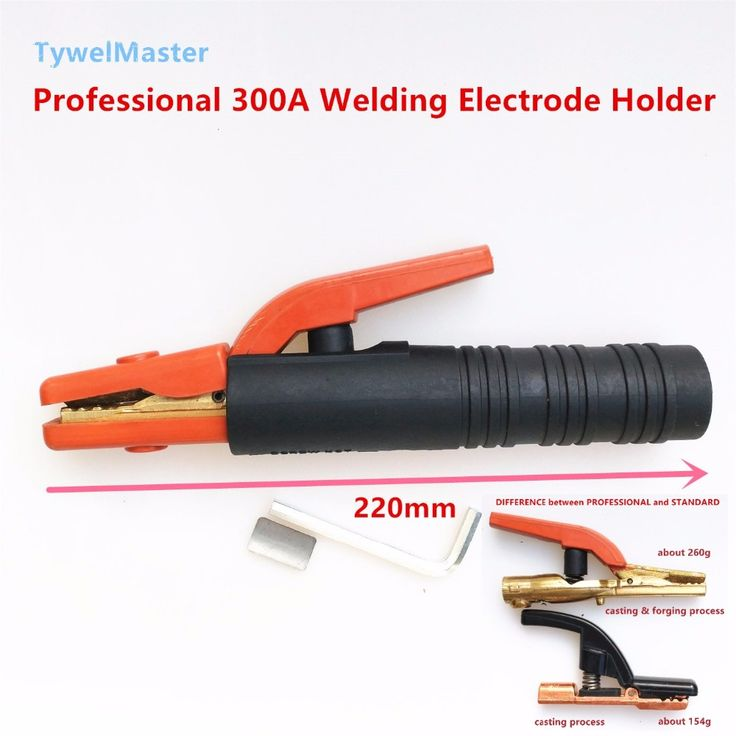 Professional Welding Electrode Holder MMA Arc Welding 1.6mm to 6.0mm Holder Clamp 300A Copper Forging Tooth EN60974-11