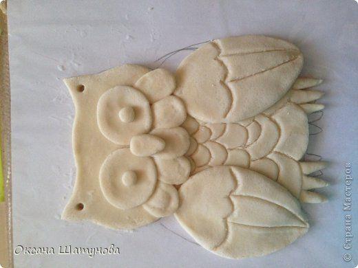 Поделка изделие Лепка Мои совы соленое тесто Тесто соленое фото 3