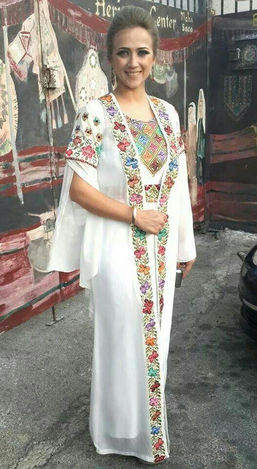 Modern palestinian dress