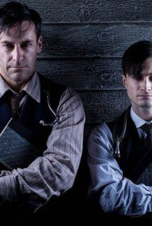 A Young Doctor's Notebook -- very, very good. just finished season 2