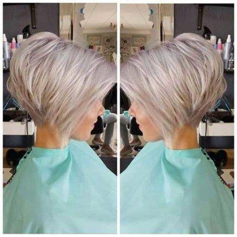 Thin-Hair Best Short Bob Haircuts for Women #bobhaircut