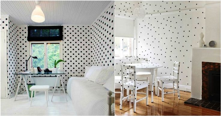 Polka dots στο χώρο σας Μικρές ή μεγάλες βούλες που θα κάνουν τη διαφορά.