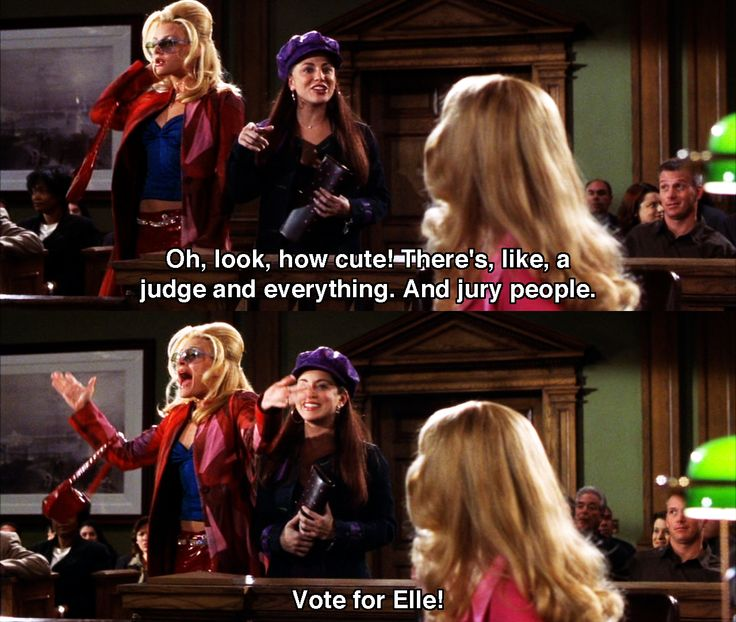 """""""How cute""""! Legally Blonde - Movie Quotes #legallyblonde #legallyblondequotes"""