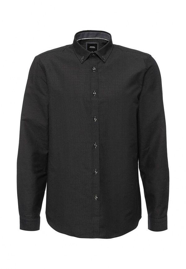 Рубашка Burton Menswear London  Рубашка Burton Menswear London. Цвет: черный.  Сезон: Весна-лето 2016. Одежда, обувь и аксессуары/Мужская одежда/Одежда/Рубашки