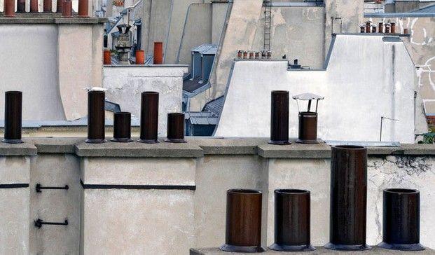 Tejados de París. Las mejores vistas de Michael Wolf.