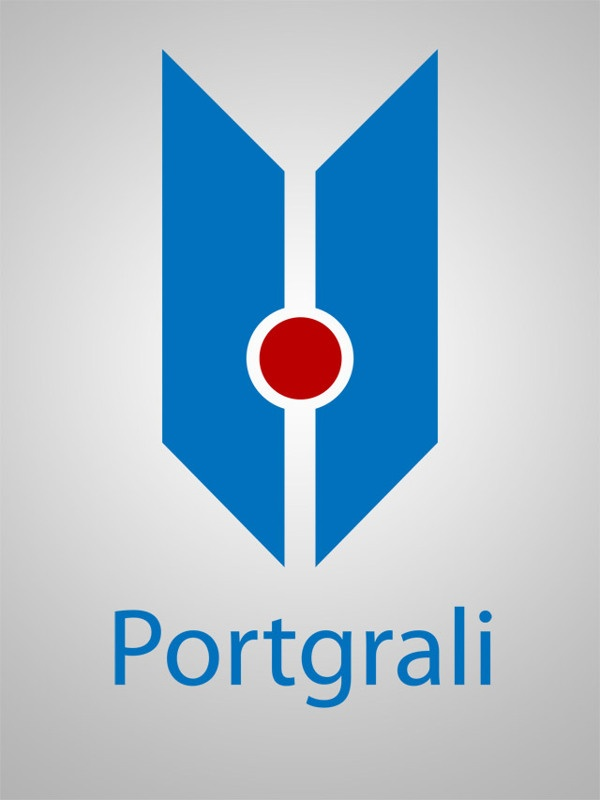 Logo Portgrali by Claudio Coutinho, via Behance