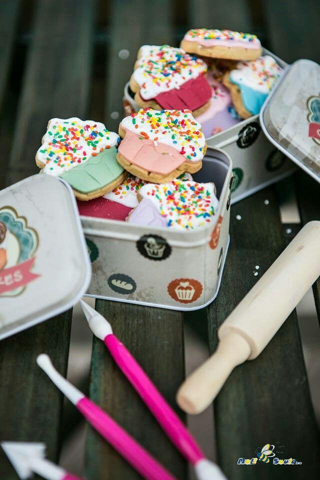 #Cookies #Vanilla #Sugarpaste #Sugart #MeliSoula