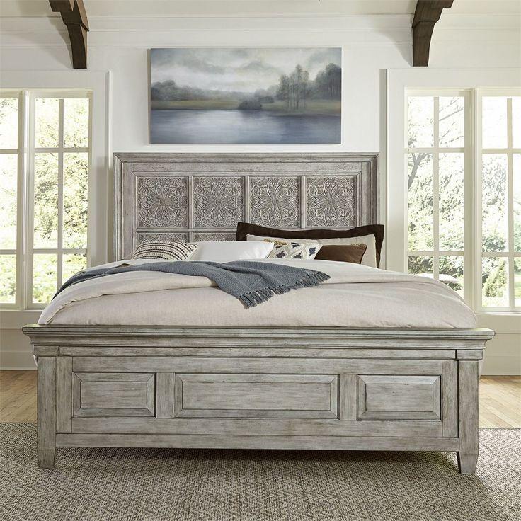 Heartland Queen OPT Panel Bed Queen panel beds, Liberty