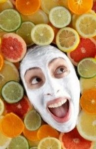 Extra Firming Facial Mask Gentle Firms Refines And Tightens Skins: Happy Faces, Fruit Facials, Skin Care, Homemade Faces Masks, Citrus Fruit, Beautiful Sparkle, Facials Masks, Beautiful Diy, Homemade Facials