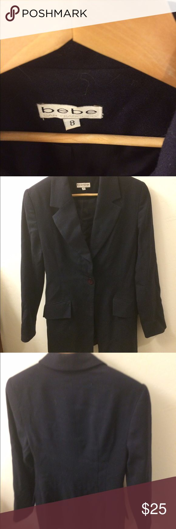 Bebe jacket Dtr worn once for S&D Competition. Very gently used jacket. Daughter worn in speech and debate competition once. BEBE Jackets & Coats Blazers