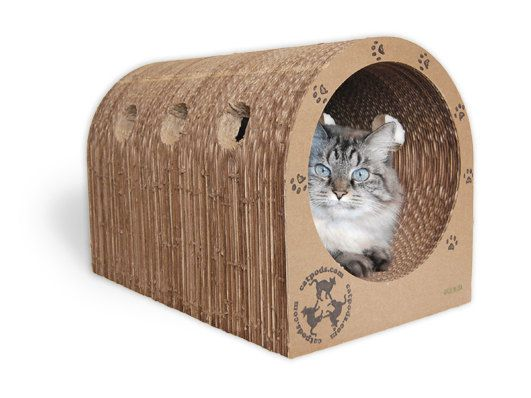 17 best ideas about cardboard cat scratcher on pinterest cheap cat scratching post cheap cat - Cat bed scratcher ...