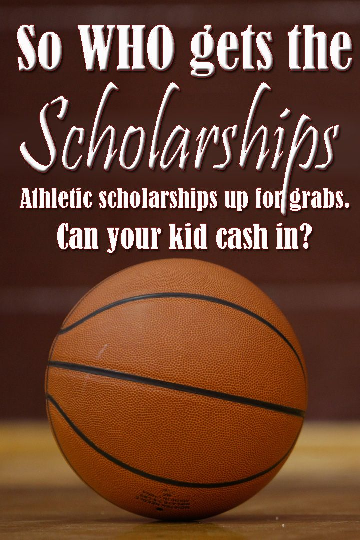 So Who Gets the Scholarships Athletic scholarships
