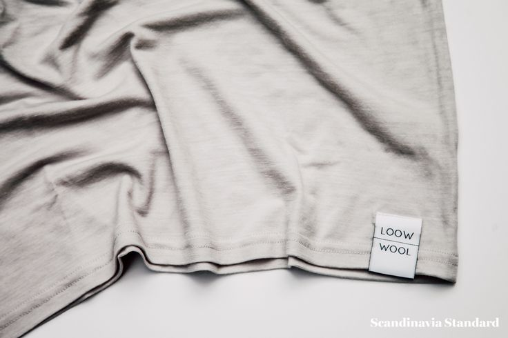 Loow Merino Wool T-shirt Close Up | Scandinavia Standard.jpg