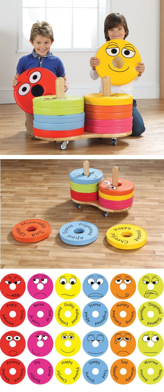 Emotion cushions are great for youth character development! The cushion cart carries 12 brightly colored floor cushions, printed with a facial expression on one side and key discussion words on the other. Also ideal for floor seating and group placement in reading/ teaching activities. A multifunctional classroom essential with an educational benefit!
