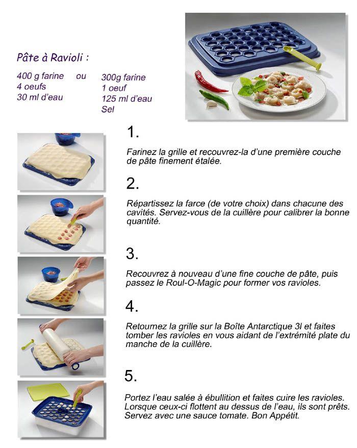 Pâte à Ravioli Tupperware