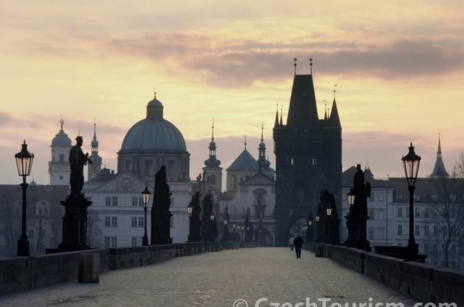 Private Full Day Trip to Prague from Vienna The City of One Hundred Spires, the Golden City, the Crown of the World - only some of the superlatives used to describe Prague. This is a city you should not miss!While in Vienna don't miss your opportunity to see Prague. The capital of the Czech Republic is famous for it's unique medieval atmosphere, the amazing history and the Czech beer – it's thebest beer in the world! With a friendlydriveryou depart from your hotel in Vienna...