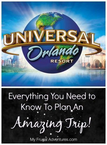 One stop for everything you need to know for a Universal Studios Orlando vacation- where to eat, top tips for rides, where to stay and even tips on what to pack!