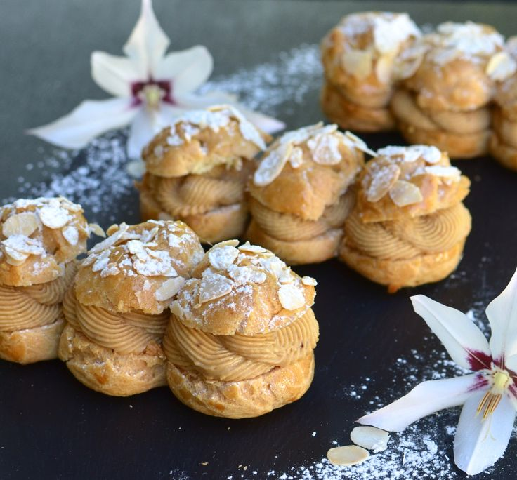 Gluten Free Paris Brest pastry choux