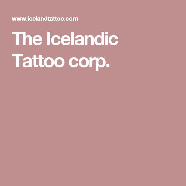 The Icelandic Tattoo corp.