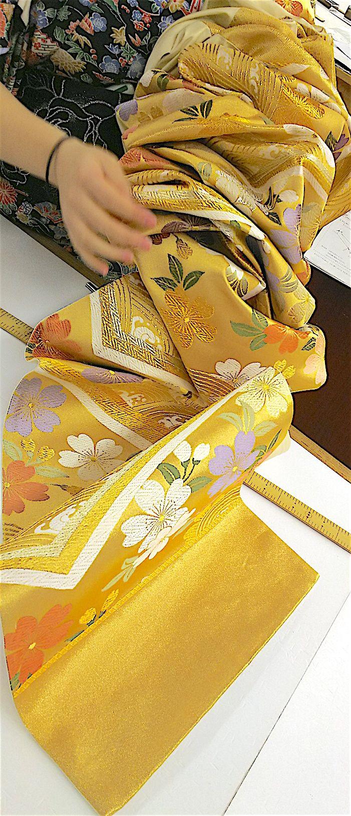 袋帯 縫製