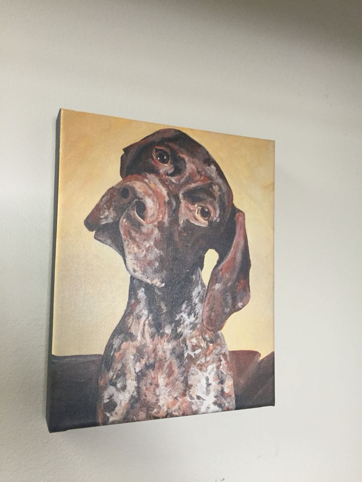 German Shorthaired Pointer Print! Original by Tabitha Marshall www.tabcreates.ca
