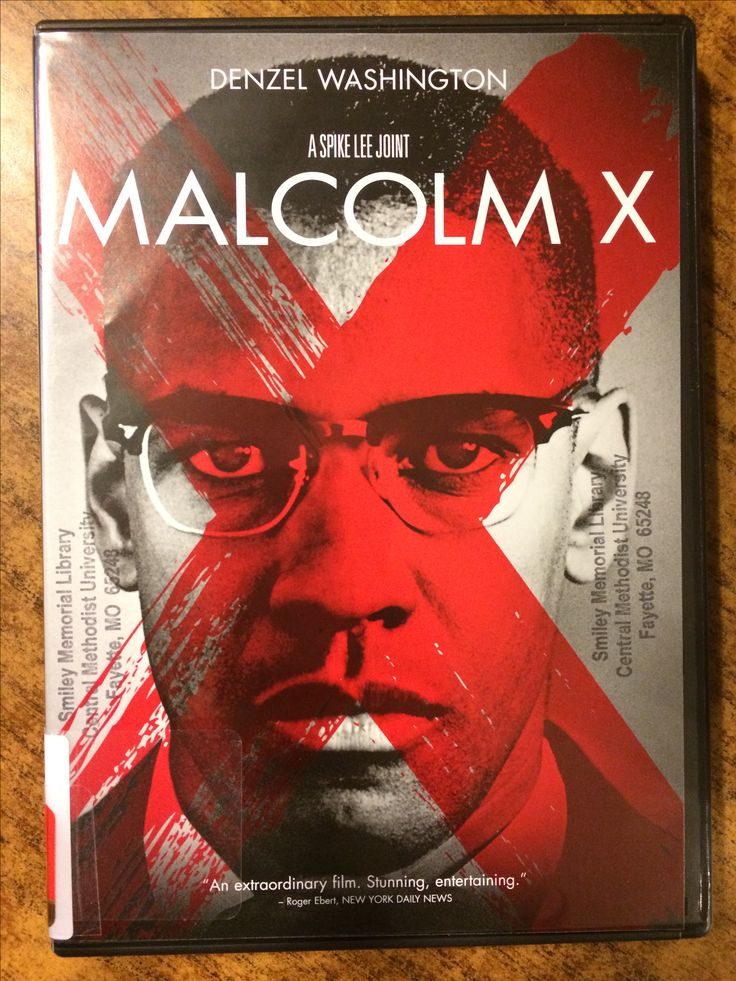 Actors portray the life and times of Malcolm X.
