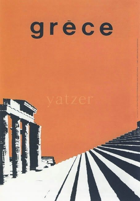 GRECE 1963. Αφίσα του Freddy Carabott..