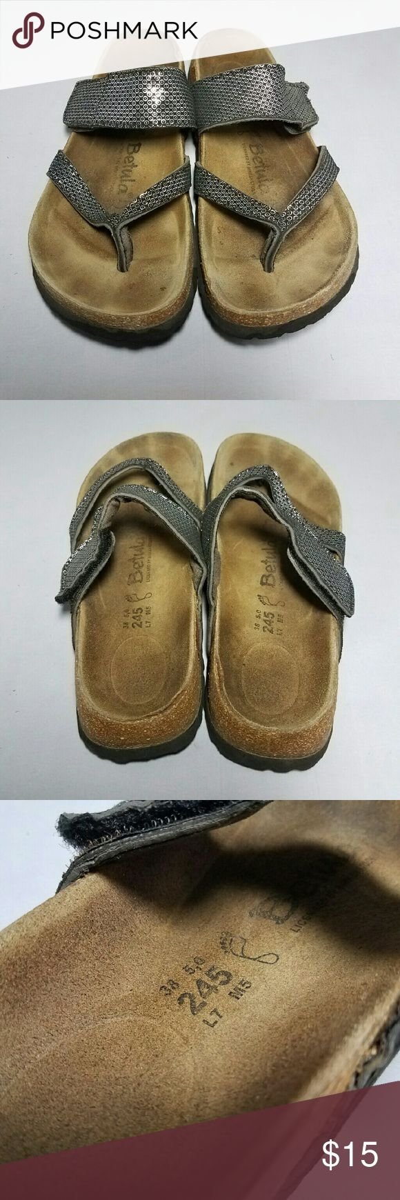 BIRKENSTOCKS BETULA SANDALS SIZE 7 BIRKENSTOCKS BETULA SANDALS SIZE 7 *Size: 7 *Excellent condition  *Smoke-free home! *FAST SHIPPING!  Have a lovely day!   xoxo  @RandomFindings Birkenstock Shoes