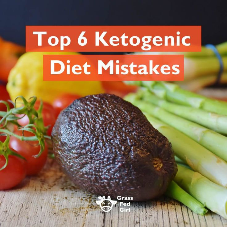 6 Common Ketogenic Diet and low carb diet Mistakes | Keto