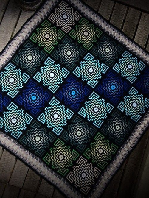 terrazzo blanket free pattern beautiful skills