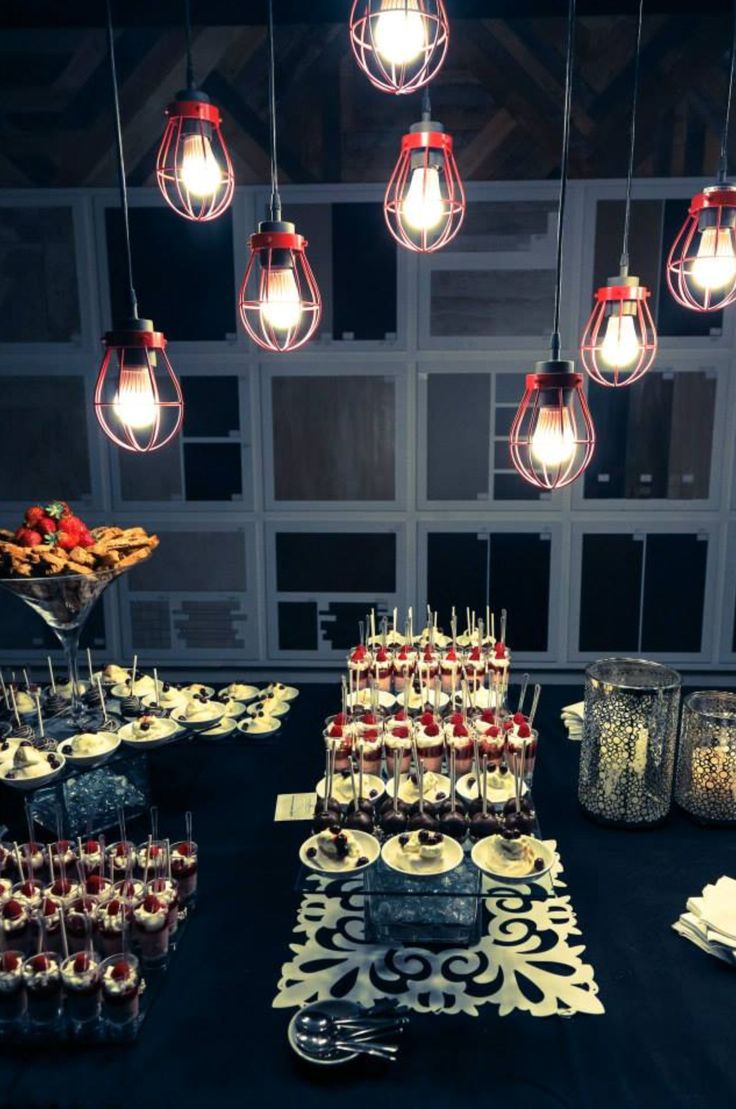 Our Clearance Area Turned Into A Delicious Dessert Room For Our Grand Opening Party!