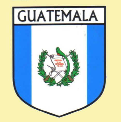 For Everything Genealogy - Guatemala Flag Country Flag Guatemala Decals Stickers Set of 3, $15.00 (http://www.foreverythinggenealogy.com.au/guatemala-flag-country-flag-guatemala-decals-stickers-set-of-3/)