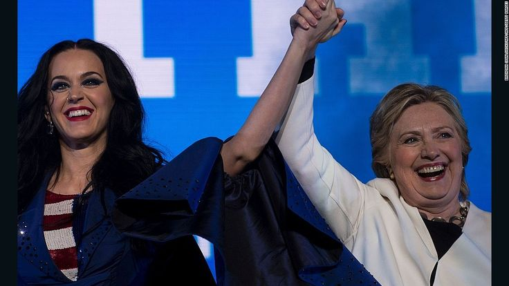 Katy Perry has more than a few similarities with Hillary Clinton.Do You Miss Me? http://www.contacthillaryclinton.com/ I've moved on to more profitable ventures. Paid Speeches Writing a Book Rewriting a Book Talk Show Host