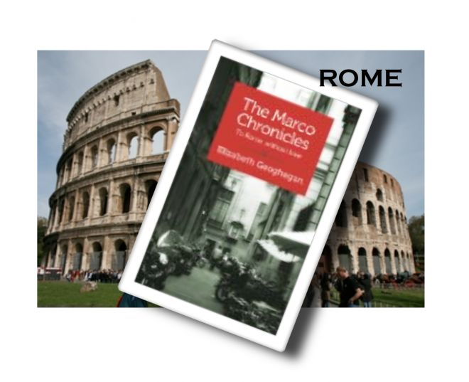 ROME : a short narrative from publishers Shebooks - The Marco Chronicles by Elizabeth Geoghegan http://www.tripfiction.com/introducing-shebooks-short-e-books-inspire/