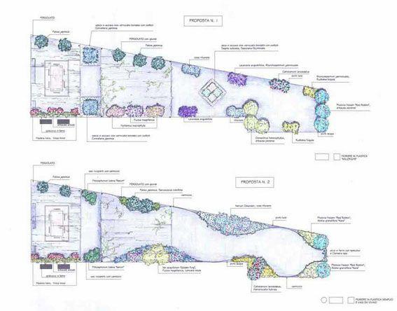 Oltre 25 fantastiche idee su progettazione di giardini su for Planimetrie del cottage del cortile