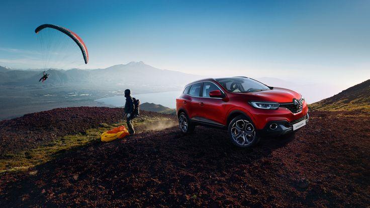 Nieuwe crossover Renault KADJAR, stad, vrije tijd, outdoor, vrijheid, 4wd, 4x4, 4x4