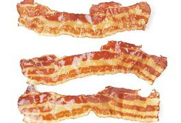Broil bacon about 2-3 minutes per side
