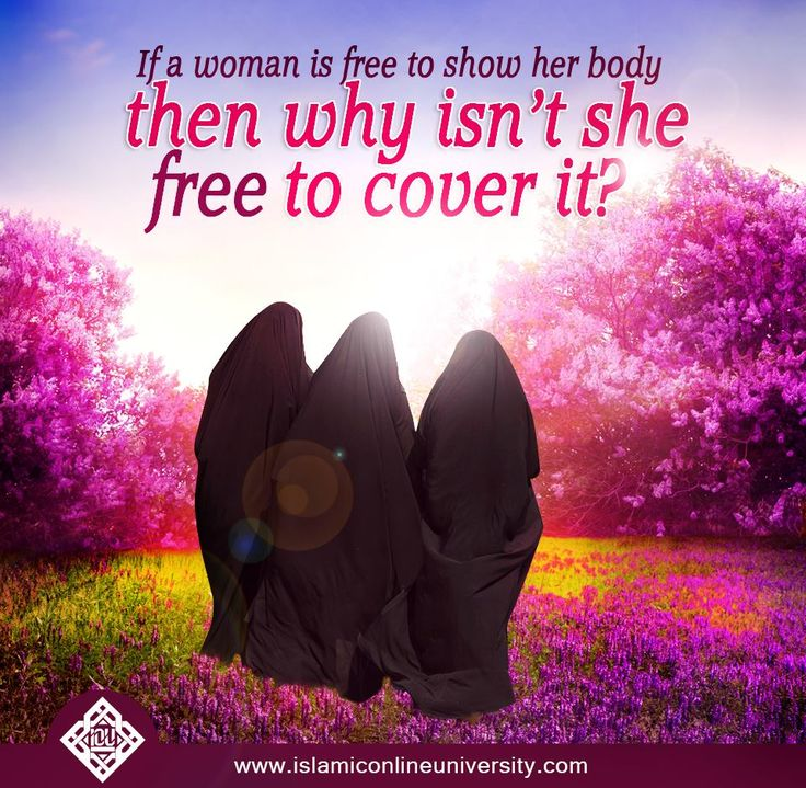 If a woman is free to show her body, why should she not be free to cover it? #Hijab