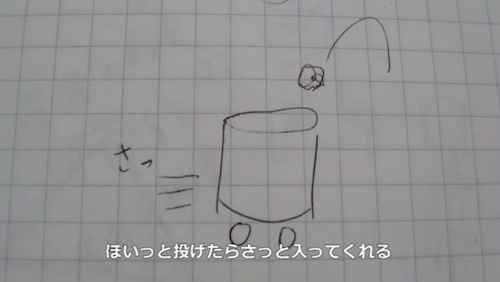 Japanese Inventor Modifies A Trashcan, So It Catches Rubbish - DesignTAXI.com
