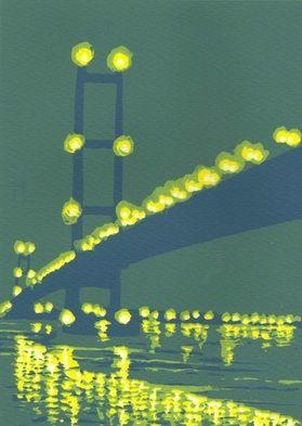 Night Bridge by Ian Scott Massie