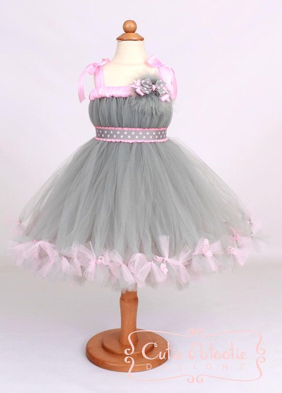 Petti Tutu Dress Mischievous Mouse Halloween Costume by Cutiepatootiedesignz