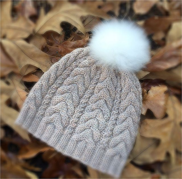 Ravelry: Project Gallery for Cable Hat pattern by Dora Stephensen